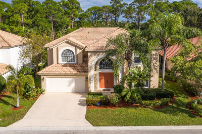 Palm Beach Gardens Single Family Home Contingent: 107 Bent Tree Drive