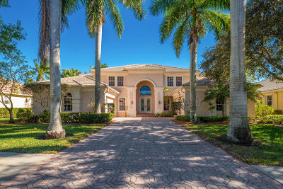 Jupiter Single Family Home For Sale: 132 Mystic Lane