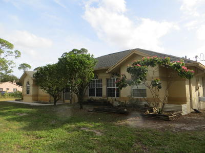 Loxahatchee FL Single Family Home For Sale: $314,900