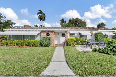 Lake Worth Single Family Home For Sale: 40 16th Avenue