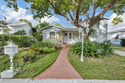 Lake Worth Single Family Home For Sale: 419 O Street
