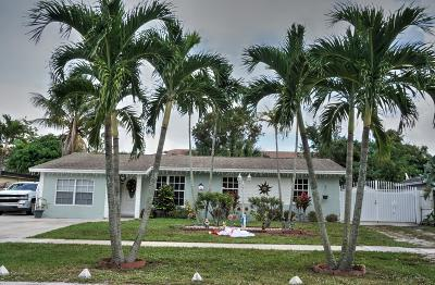 West Palm Beach Single Family Home For Sale: 928 Fitch Drive