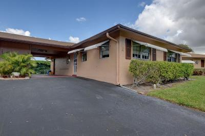 Delray Beach FL Single Family Home For Sale: $140,000
