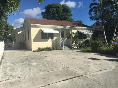 Lake Worth Single Family Home For Sale: 1732 7th Avenue