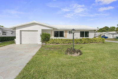 Boynton Beach Single Family Home For Sale: 1211 SW 22nd Avenue