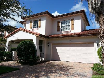 Palm Beach Gardens Rental For Rent: 610 Castle Drive