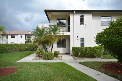Boca Raton FL Condo For Sale: $155,000