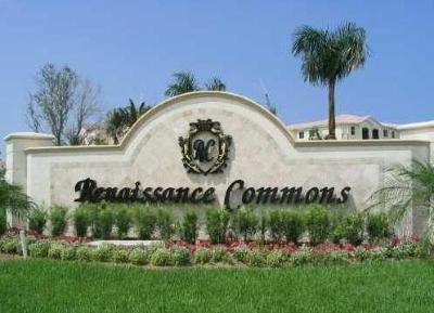 Boynton Beach Condo For Sale: 1660 Renaissance Commons Boulevard #2516
