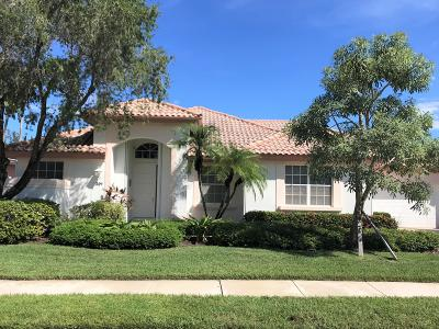 Palm Beach Gardens Single Family Home For Sale: 201 Eagleton Estates Boulevard