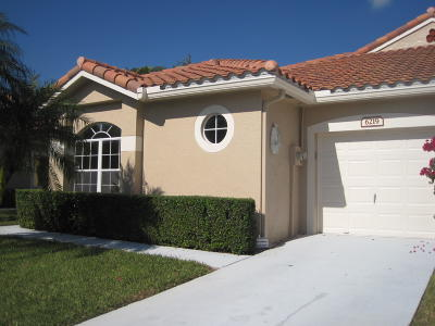 Boynton Beach Single Family Home For Sale: 6219 Long Key Lane