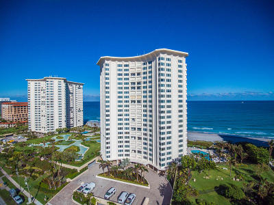 Palm Beach County Condo For Sale: 550 S Ocean Boulevard #2009