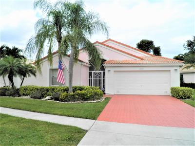Boynton Beach Single Family Home For Sale: 12691 Coral Lakes Drive