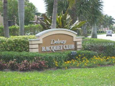 Delray Beach Condo For Sale: 950 Egret Circle #5405