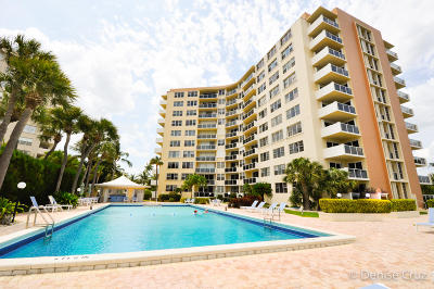 West Palm Beach Condo For Sale: 2800 Flagler Drive #713