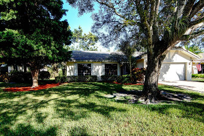 Boca Raton FL Single Family Home For Sale: $324,990