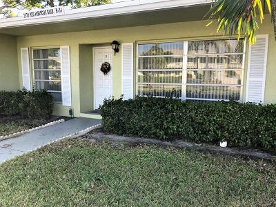 Delray Beach Single Family Home For Sale: 2520 Red Hibiscus Boulevard #B