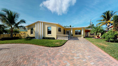 West Palm Beach Single Family Home For Sale: 3337 El Vedado Court E