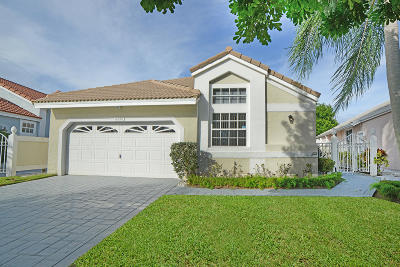 Palm Beach Gardens Single Family Home For Sale: 12932 Touchstone Place