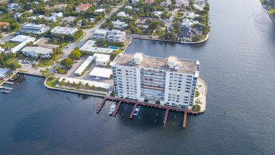 Delray Beach Condo For Sale: 400 Seasage Drive #606
