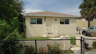 West Palm Beach Multi Family Home For Sale: 809 19th Street