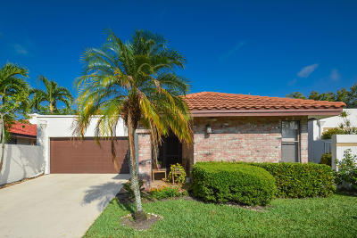 Boca Raton FL Single Family Home For Sale: $409,900