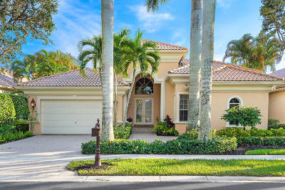 Delray Beach Single Family Home For Sale: 7840 Palencia Way