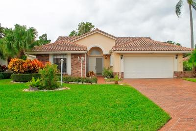Boynton Beach Single Family Home For Sale: 4734 Capstar Drive