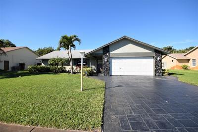 Boynton Beach Single Family Home For Sale: 3609 Diane Drive