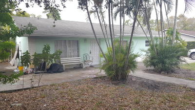Lake Worth Single Family Home For Sale: 5573 3rd Road