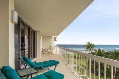 Palm Beach Condo For Sale: 3300 S Ocean Boulevard #401 S