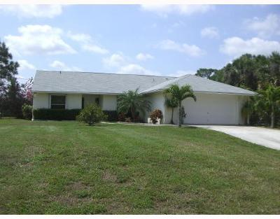 West Palm Beach Single Family Home For Sale: 11194 63rd Lane