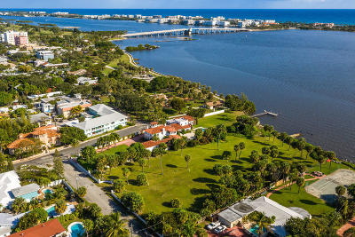 Lake Worth, Lakeworth Single Family Home For Sale: 1 5th Avenue S