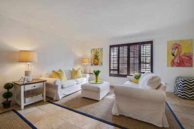 Delray Beach Townhouse For Sale: 200 S Ocean Boulevard #A-111