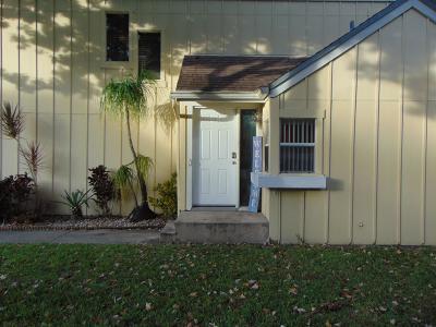 Jupiter Townhouse For Sale: 6383 Riverwalk Lane #1