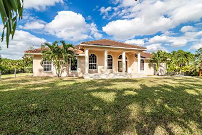 West Palm Beach Single Family Home For Sale: 13387 85th Road
