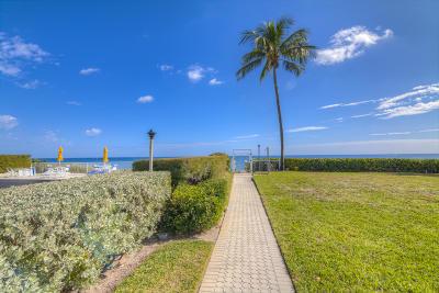 Palm Beach Condo For Sale: 3230 S Ocean Boulevard #A102