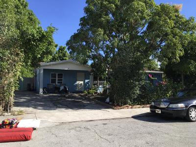 West Palm Beach Single Family Home Contingent: 3324 El Vedado Court W