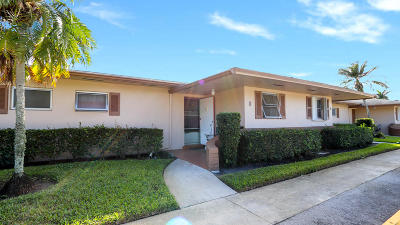 West Palm Beach Condo For Sale: 2545 Dudley Drive W #I