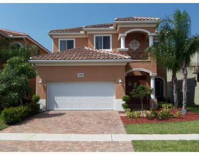 West Palm Beach Single Family Home For Sale: 466 Gazetta Way