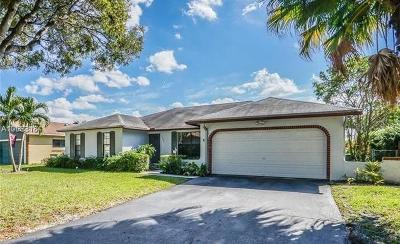 Coral Springs Rental For Rent: 10892 NW 21st Street