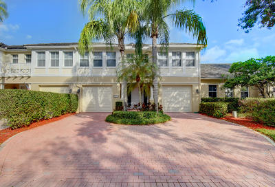 Boca Raton Townhouse For Sale: 3927 NW 58th Street