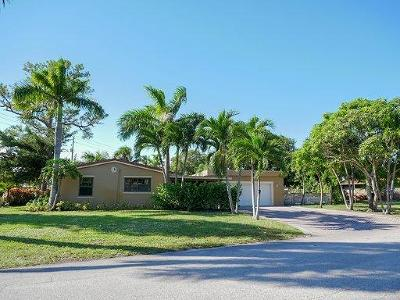 Wilton Manors Single Family Home For Sale: 43 NE 26 Street