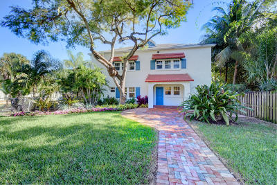 Lake Worth Multi Family Home For Sale: 422 Palmway #1