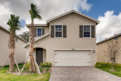West Palm Beach Single Family Home For Sale: 6072 Wildfire Way