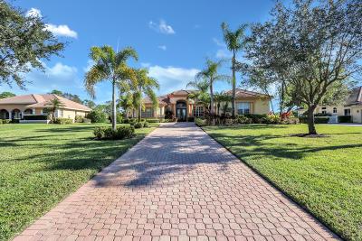Port Saint Lucie Single Family Home For Sale: 8031 Plantation Lakes Drive