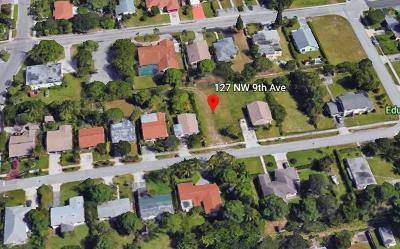 Delray Beach Residential Lots & Land For Sale: 127 NW 9th Avenue