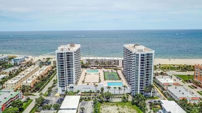 Pompano Beach Condo For Sale: 525 Ocean Boulevard #718
