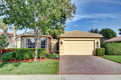 Boynton Beach Single Family Home For Sale: 6851 Longmont Point