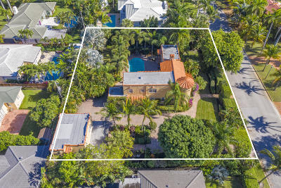 West Palm Beach Single Family Home For Sale: 319 E Lakewood Road