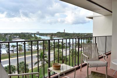 Tequesta Condo For Sale: 225 Beach Road #602